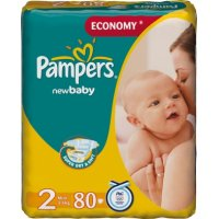 Подгузники Pampers NewBaby 2 Mini 3-6кг 80 штук Pampers