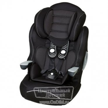 Автокресло Nania I - MAX SP LUXE BLACK 9 - 36 кг чёрный  Nania