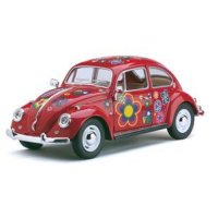 Машина VOLKSWAGEN CLASSICAL BEETLE WITH PRINTING Kinsmart Машинки