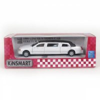Машина LINCOLN TOWN CAR STRETCH LIMOUSINE Kinsmart